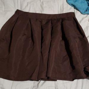 Forever 21+ Black Circle Skirt Size 1X